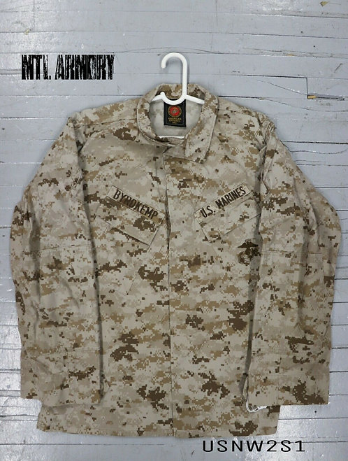 US ISSUED DESERT MARPAT COMBAT SHIRT SIZE MEDIUM-REGULAR