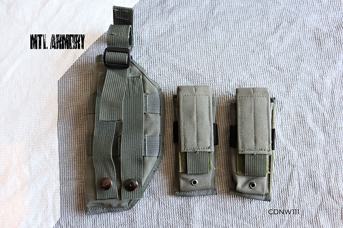 CANADIAN FORCES HELICOTER RESCUE VEST HOLSTER AND MAG POUCHES