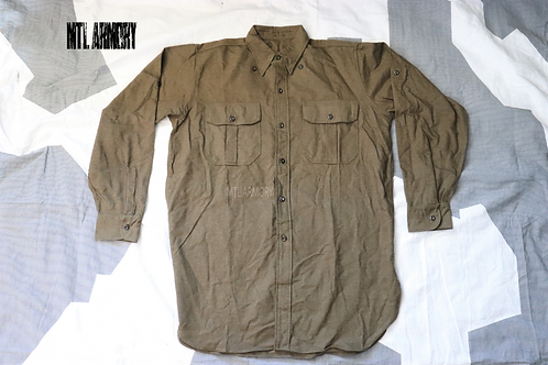 CANADIAN ISSUED KOREAN WAR WOOL SHIRTS