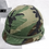 Thumbnail: M1 HELMET WITH LINER AND WOODLAND COVER