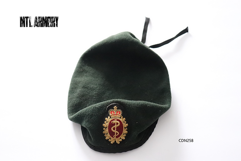 CANADIAN FORCES MEDICAL CORPS BERET SIZE 7 5/8