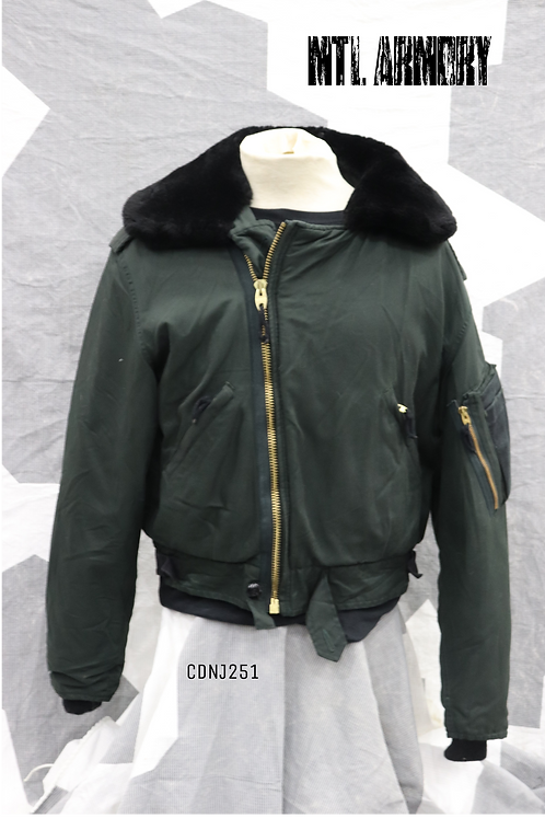 RCAF DARK GREEN FLYER'S JACKET SIZE 7040