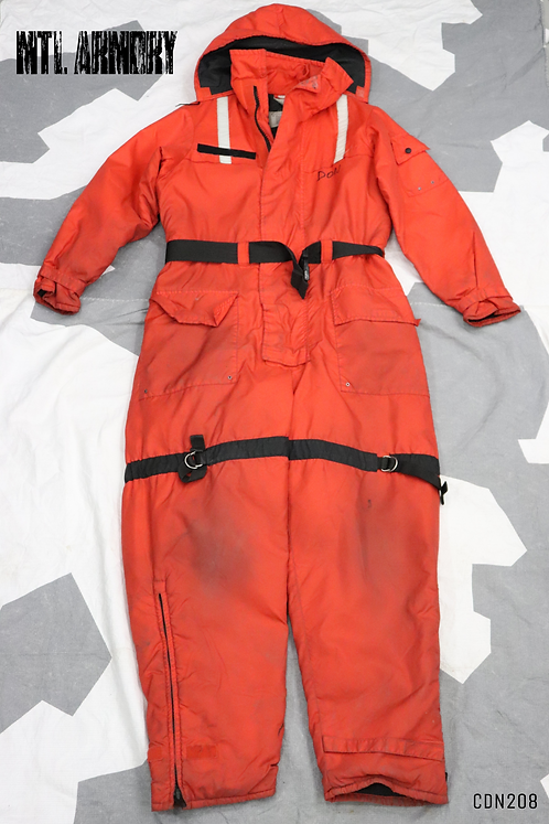 CANADIAN COAST GUARD MUSTANG SURVIVAL ANTI EXPOSURE SUIT SIZE LARGE