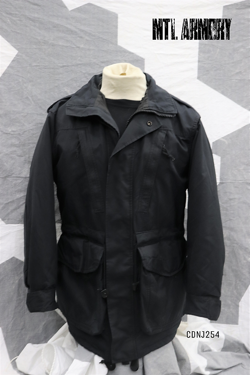 RCN BLACK GORE-TEX JACKET SIZE 6736