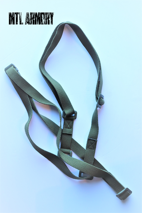 CANADIAN FORCES GAS MASK CARRIER STRAPS