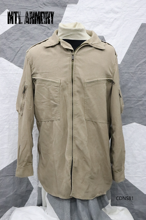 ROYAL CANADIAN AIR FORCE NOMEX BEIGE FLYERS SHIRT SIZE 7046 RCAF