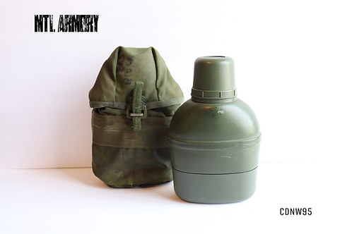 CANADIAN ISSUED CANTEEN WITH 82 PATTERN CARRIER