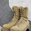Thumbnail: CANADIAN FORCES TAN STEEL TOE BOOTS SIZE ( 285/104 )