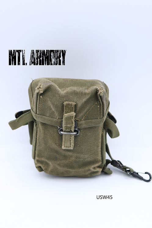US ARMY CANVAS M1956 SHORTIE AMMO POUCH