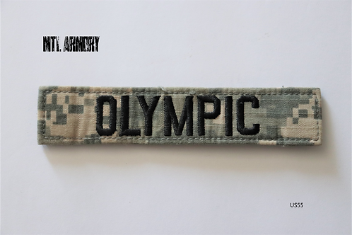 US ARMY OLYMPIC PATCH