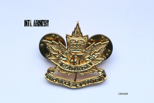 CANADIAN FORCES ROYAL WESTMINSTER REGIMENT PIN