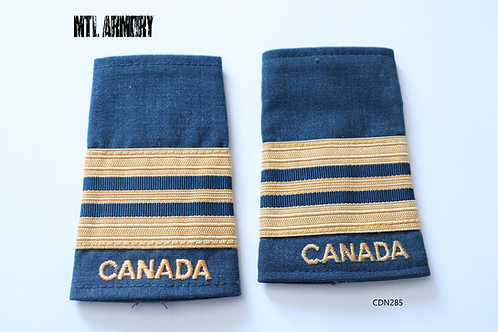 ROYAL CANADIAN AIR FORCE MAJOR EPAULETTES RCAF SLIP ONS