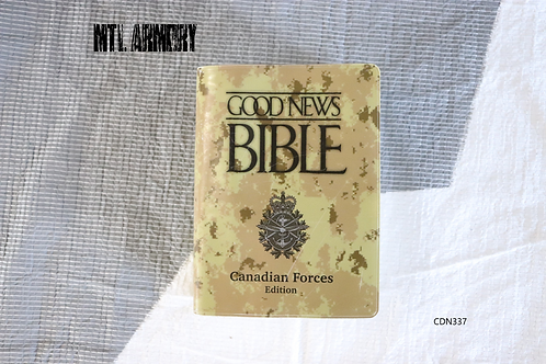 CANADIAN FORCES GOOD NEWS BIBLE