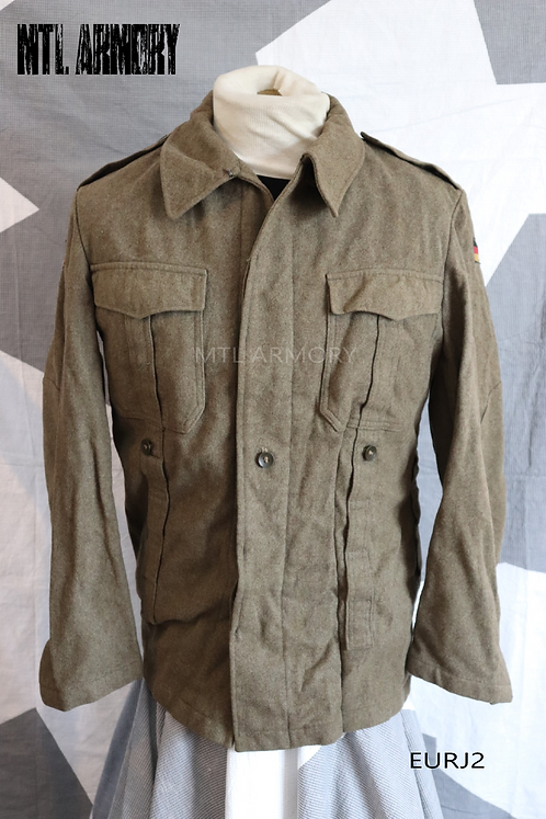 GERMAN ISSUED WOOL JACKET SIZE SMALL