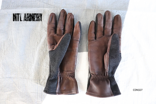 ROYAL CANADIAN AIR FORCE COLD WEATHER FLYER'S GLOVES SIZE SMALL RCAF