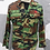 Thumbnail: KOREAN MILITARY COMBAT SHIRT ROK ARMY SIZE SMALL (90 KOREAN)