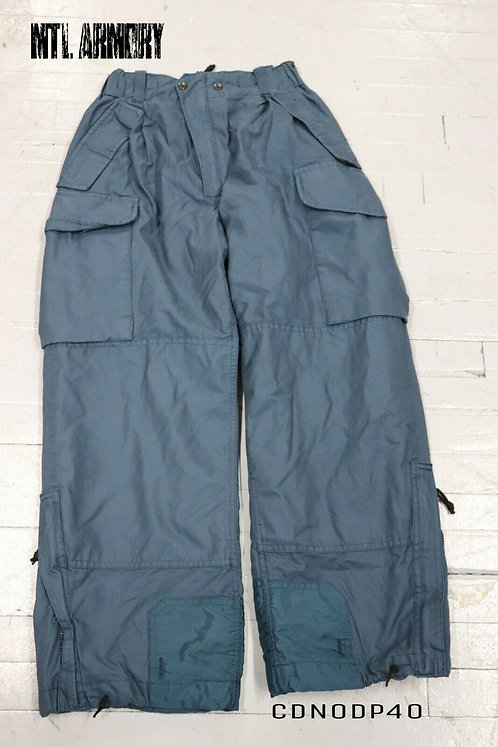 RCAF ISSUED COLD WEATHER GORE-TEX PANTS SIZE 7030