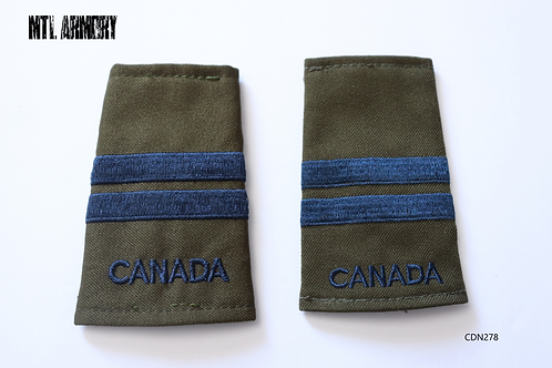 ROYAL CANADIAN AIR FORCE CAPTAIN EPAULETTES RCAF SLIP ONS