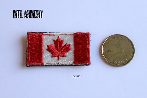 CANADIAN FORCES ISSUED RED FLAG PATCH