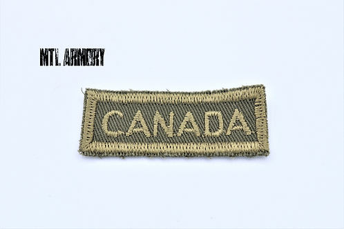 CANADIAN FORCES OD CANADA SHOULDER TAB PATCH