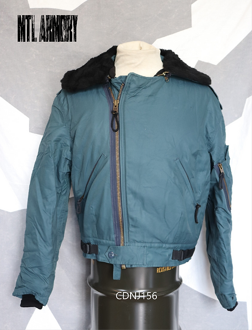 RCAF ISSUED BLUE PILOTS JACKET SIZE 7040