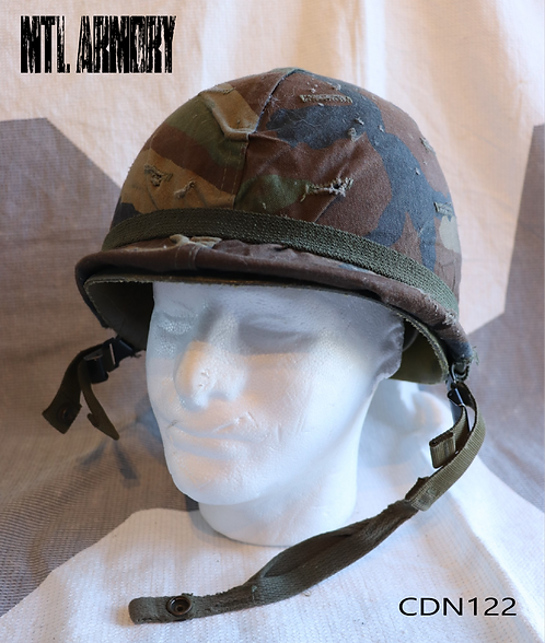 CANADIAN M1 HELMET WITH COVER