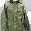 Thumbnail: CANADIAN FORCES OD RAIN JACKET SIZE 7036