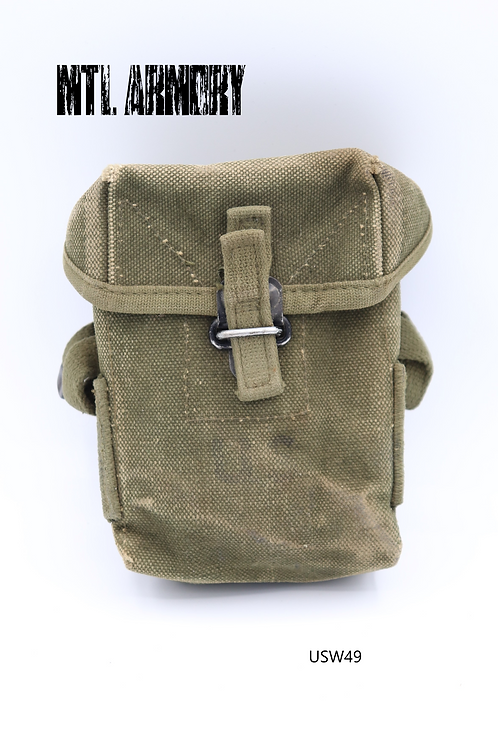 US ARMY CANVAS M1956 AMMO POUCH 2ND PATTERN