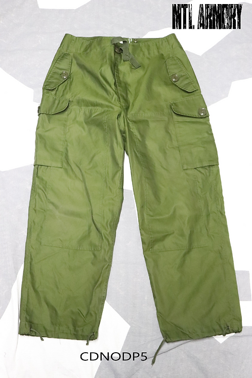 CANADIAN FORCES NEW OD WINDPROOF COMBAT PANTS