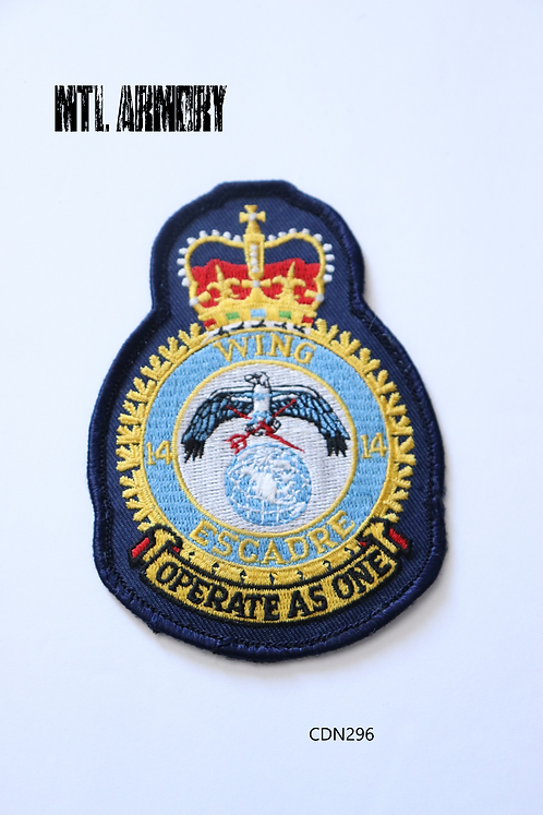 ROYAL CANADIAN AIR FORCE 14 WING GREENWOOD PATCH RCAF