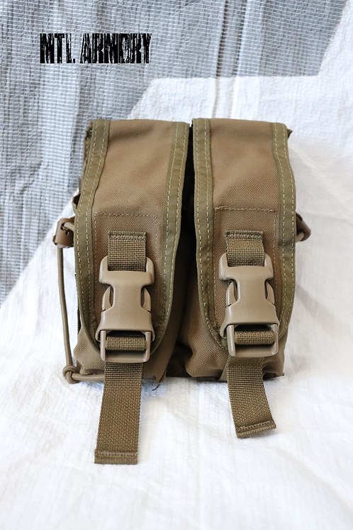 CANADIAN FORCES ISSUED TACTICAL TAILOR DOUBLE MAG POUCH