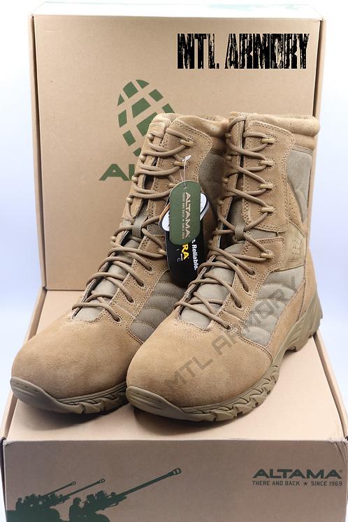 NEW CANADIAN FORCES ALTAMA FOX HOUND COYOTE 365803 BOOTS