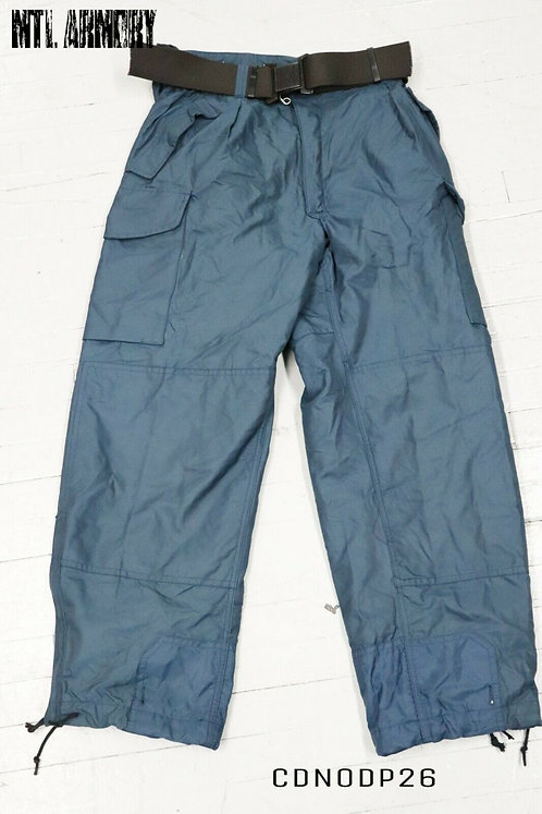 RCAF ISSUED COLD WEATHER GORE-TEX PANTS SIZE 7338