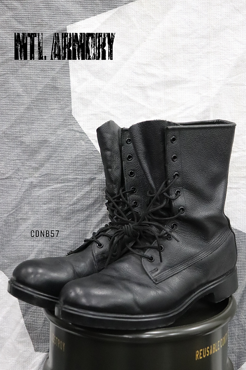 CANADIAN FORCES BLACK MK III COMBAT BOOTS SIZE 11 D