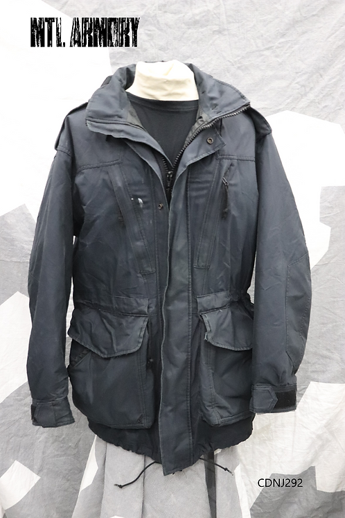 ROYAL CANADIAN NAVY BLACK GORE-TEX JACKET SIZE 7044