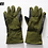 Thumbnail: CANADIAN FORCES GREEN MORTAR GLOVES SIZE LARGE
