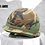 Thumbnail: US ARMY M1 HELMET WITH WOODLAND COVER