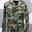 Thumbnail: USAF MILITARY WOODLAND COMBAT SHIRT SIZE MEDIUM-REGULAR