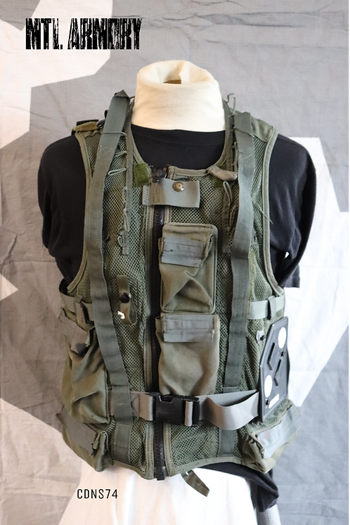 CANADIAN FORCES HELICOPTER SURVIVAL VEST SIZE SMALL