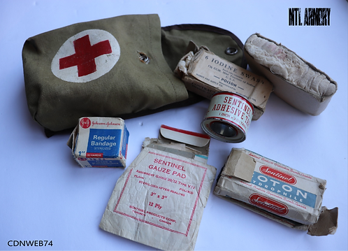 VINTAGE CANADIAN FIRST AID POUCH