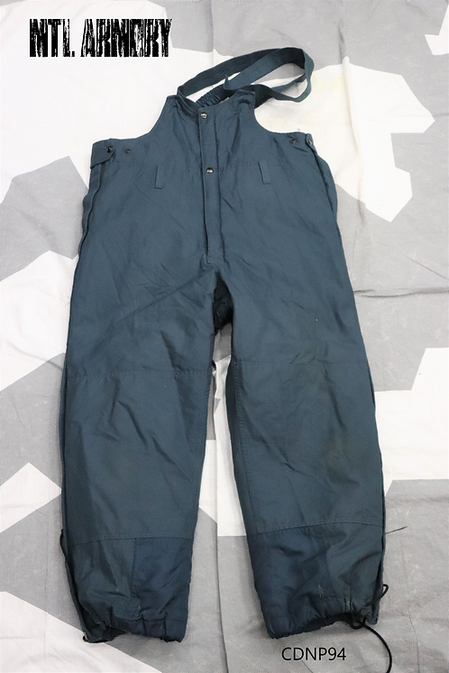 ROYAL CANADIAN AIR FORCE BLUE COLD WEATHER FLYER'S PANTS SIZE 7034 RCAF