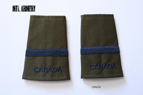 ROYAL CANADIAN AIR FORCE 2ND LIEUTENANT EPAULETTES RCAF SLIP ONS