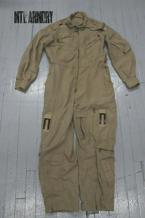 RCAF ISSUED TAN FLYERS COVERALLS SIZE 6738