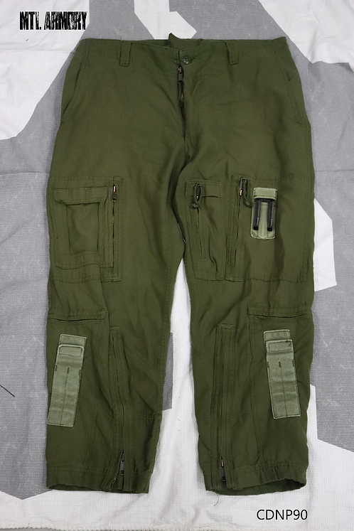 RCAF OD FLYERS HELICOPTER TACTICAL PANTS SIZE 6738