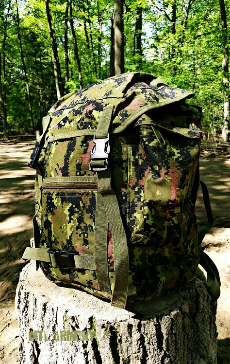 CANADIAN FORCES DIGITAL STYLE ISSUED 3DAY BACKPACK