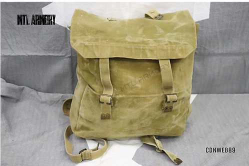 CANADIAN ISSUED WWII PATTERN 37 HAVERSACK