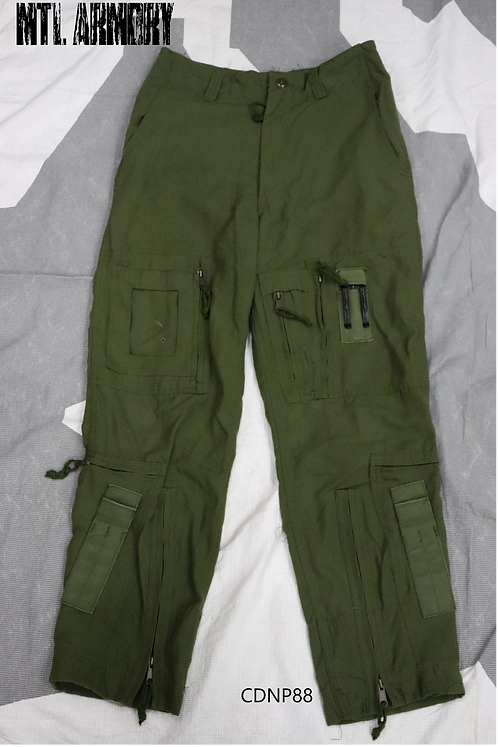 RCAF OD FLYERS HELICOPTER TACTICAL PANTS SIZE 7032