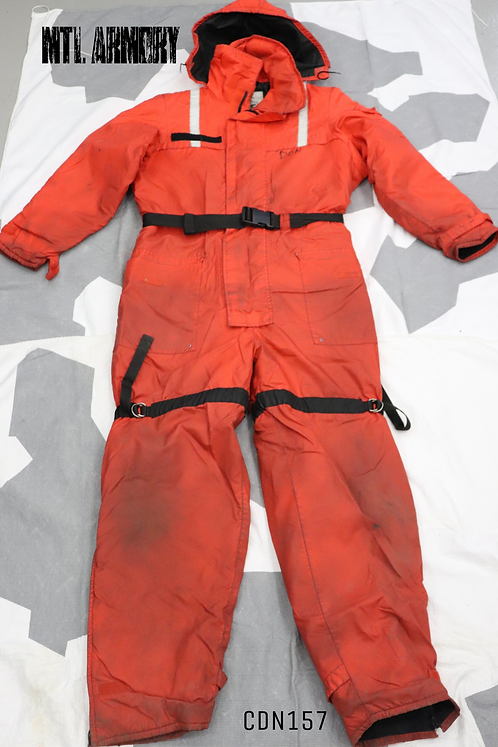 CANADIAN COAST GUARD MUSTANG SURVIVAL ANTI EXPOSURE SUIT SIZE XL