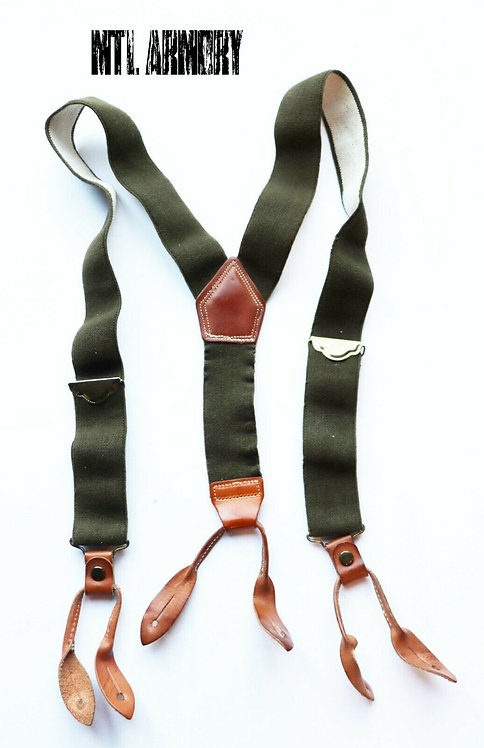 CANADIAN FORCES ISSUED SUSPENDERS