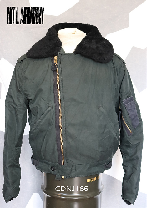 RCAF ISSUED DARK GREEN PILOT JACKET SIZE 7441
